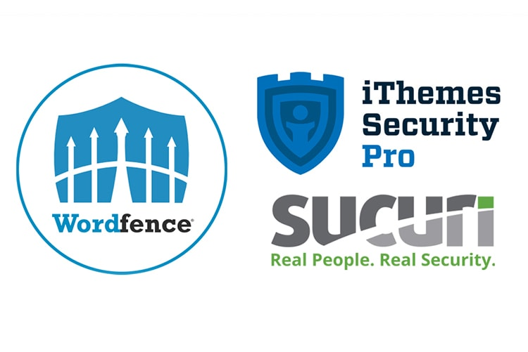 Wordpress security program logos