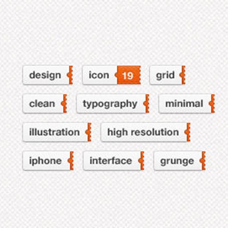 Sliding Tags website trend 2010